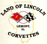 Land of Lincoln Corvettes Logo
