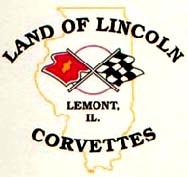 Corvettes of Land of Lincoln Logo